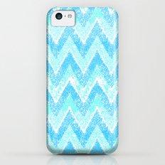 snow chevron iPhone 5c Slim Case