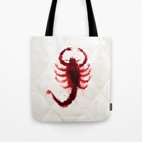 drive Tote Bags featuring Drive by Luke Eckstein