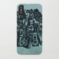 cameras iPhone & iPod Cases featuring Cameras by Bill Pyle