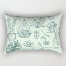 PLANTS LOVER Rectangular Pillow