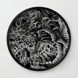 Cobra Snake Abstract Wall Clock