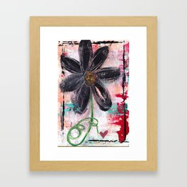 GARDEN OF WHIMSY 1 Framed Art Print