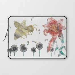 Bee Happy 1 Laptop Sleeve