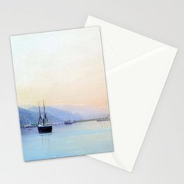 A Bay 1880 By Lev Lagorio | Reproduction | Russian Romanticism Painter Stationery Cards