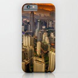 Kuala Lumpur City Sunset iPhone Case
