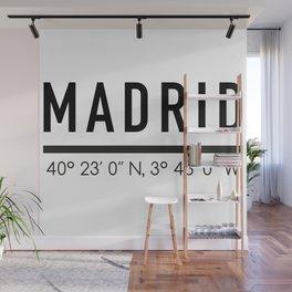 Madrid Wall Mural