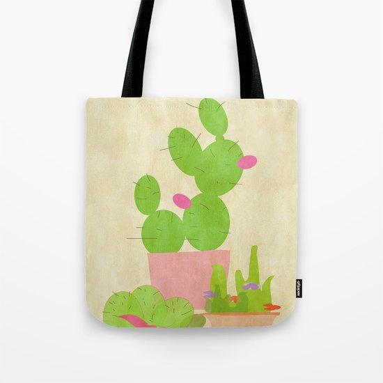 Cacti Mix Tote Bag