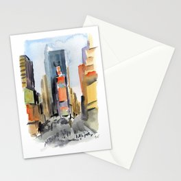 Times Square Stationery Cards