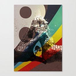 Love ve love love... Canvas Print