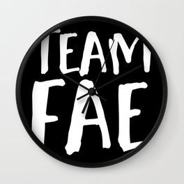 Team Fae - Inverted Wall Clock