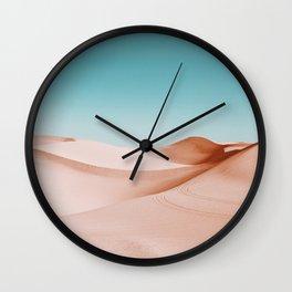Desert Dunes Wall Clock