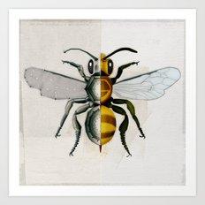 BeeDroid Art Print