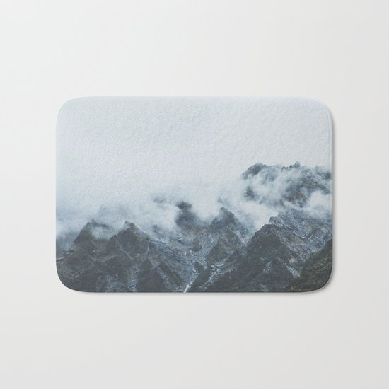 Stormy New Zealand Bath Mat