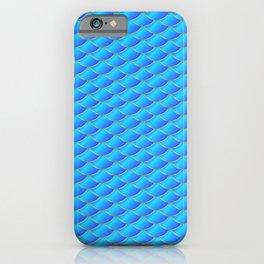 Mermaid tail pattern iPhone Case