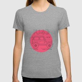 Toyota Land Cruiser FJ40 Fan Artwork T-shirt