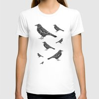 raven T-shirts featuring Raven by Rebexi