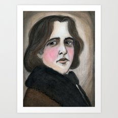 The Importance of Being Oscar Wilde Art Print