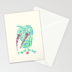 Skull On Fire #2 Stationery Cards