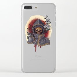 Chivalry in Thorns Clear iPhone Case