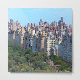 Upper East Side New York Metal Print