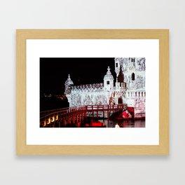 Belém Tower Lisbon Portugal Framed Art Print