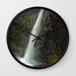 Upper Latourell Falls, No. 2 Wall Clock
