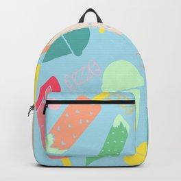 Ice Cream blue Backpack