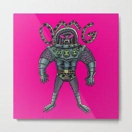 Monster OMG Metal Print