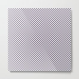 Loganberry Polka Dots Metal Print
