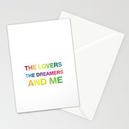 The Lovers, The Dreamers, and Me Stationery Cards