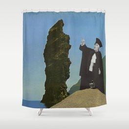 maritime tribunal Shower Curtain