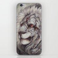 caitlin hackett iPhone & iPod Skins featuring the Nemean Lion by Caitlin Hackett