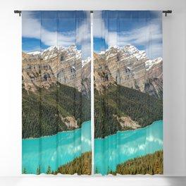 Peyto Lake Banff National Park Alberta Canada Ultra HD Blackout Curtain