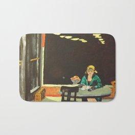 Auto Mat - Edward Hopper  Bath Mat