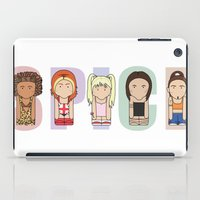 spice iPad Cases featuring Spice Girls by Big Purple Glasses