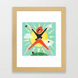 Exuberant! Framed Art Print