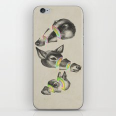multiplicity iPhone & iPod Skin