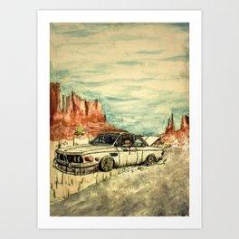 Stranded... Art Print