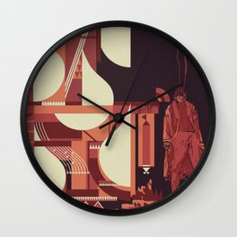 SKINWALKER Art 1 Wall Clock