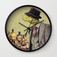 the 100 Wall Clocks featuring 100% Genuine by Eric Fan