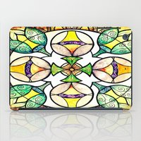 stained glass iPad Cases featuring Stained Glass by Misrella
