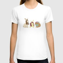 Hares In Wigs T-shirt