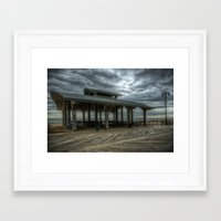 boardwalk empire Framed Art Prints featuring Boardwalk by Svetlana Sewell