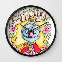 Super Grover Wall Clock