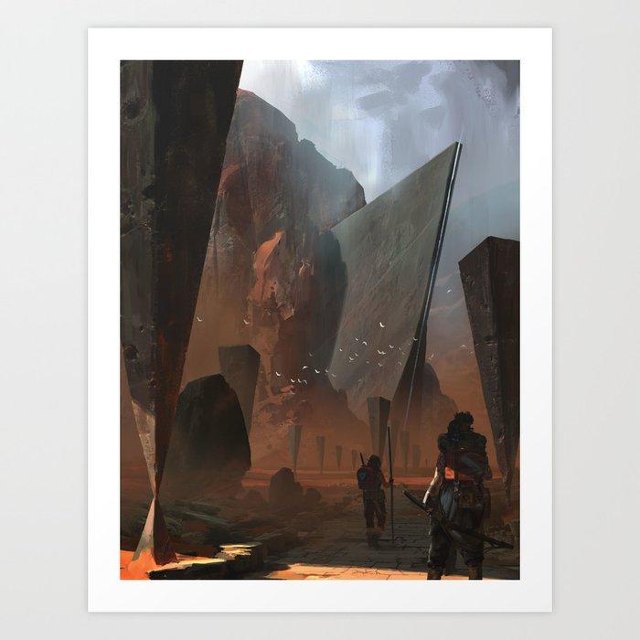 The Ancients Art Print