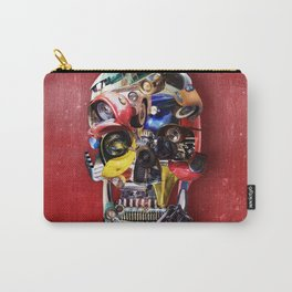 Hot Rod Skull Carry-All Pouch