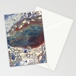 Marble Fusion Stationery Cards