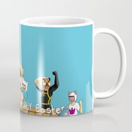 Banana bus Squad in Easter egg hunt Coffee Mug