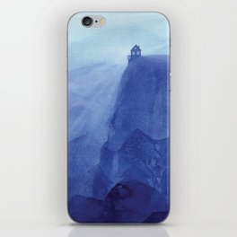 House on the rock, blue mountains iPhone Skin