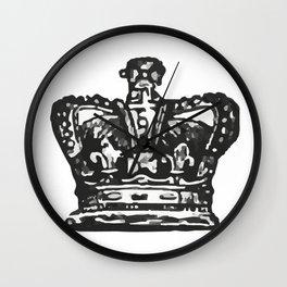 Crown 2 Wall Clock